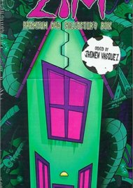 Invader Zim Empty Box with Extras Disc