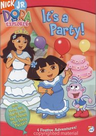 Dora The Explorer: Its A Party!