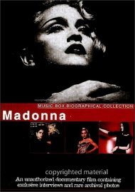 Madonna: Music Box Biographical Collection