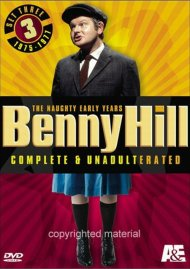 Benny Hill, Complete And Unadulterated:  The Naughty Early Years - Set Three