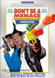 Dont Be A Menace To South Central While Drinking Your Juice In The Hood: Unrated Special Edition