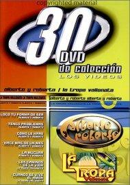 Alberto Y Roberto / La Tropa Vallenata: 30 DVD De Coleccion
