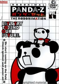 Panda-Z: The Robonimation - Volume 1