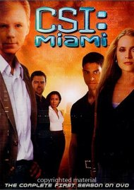 CSI: Miami - The Complete Seasons 1 - 3