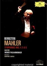 Bernstein: Mahler Symphonies Nos. 4, 5 & 6