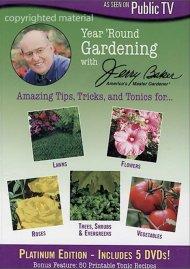 Jerry Baker: Year Round Gardening - Platinum Edition 5 DVD Set