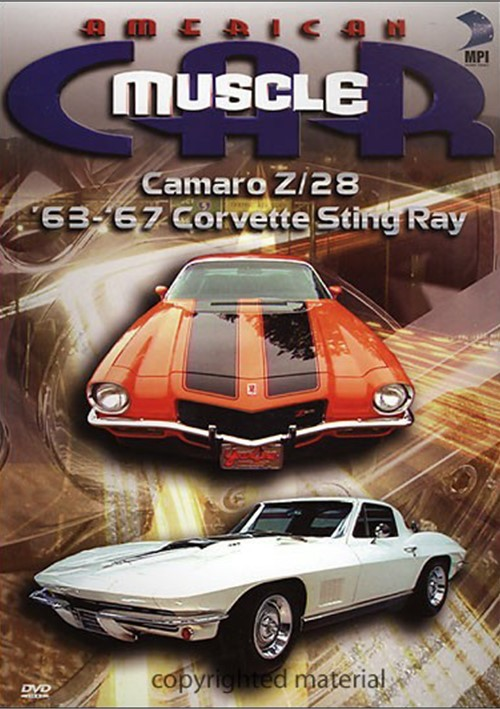 American Muscle Car: Camaro Z/28 / 63 - 67 Corvette Sting Ray