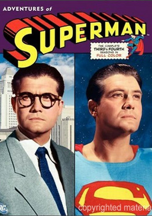 Adventures Of Superman, The: The Complete Third & Fourth Seasons