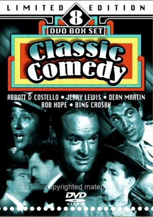 Classic Comedy: Limited Edition 8 DVD Box Set
