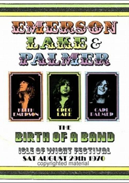 Emerson Lake & Palmer: Birth Of A Band