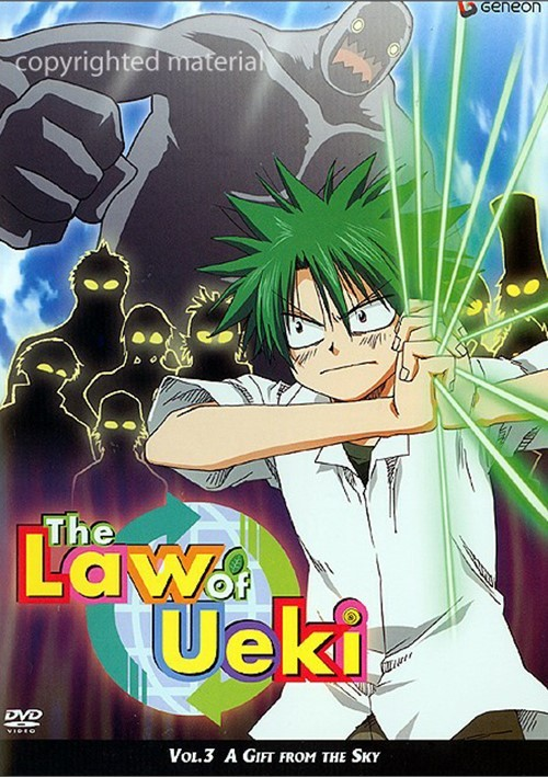 Law Of Ueki: Volume 3 - The Gift From The Sky
