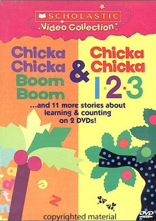 Chicka Chicka Boom Boom / Chicka Chicka 1, 2, 3 (2 Pack)