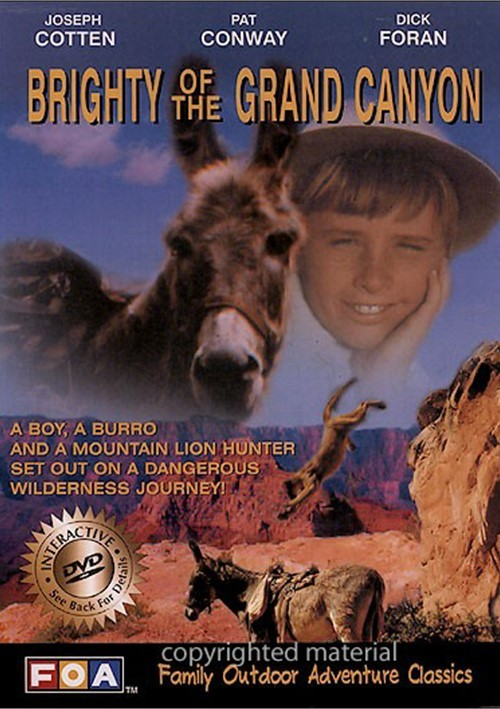Brighty Of The Grand Canyon / Walking Thunder (2 Pack)