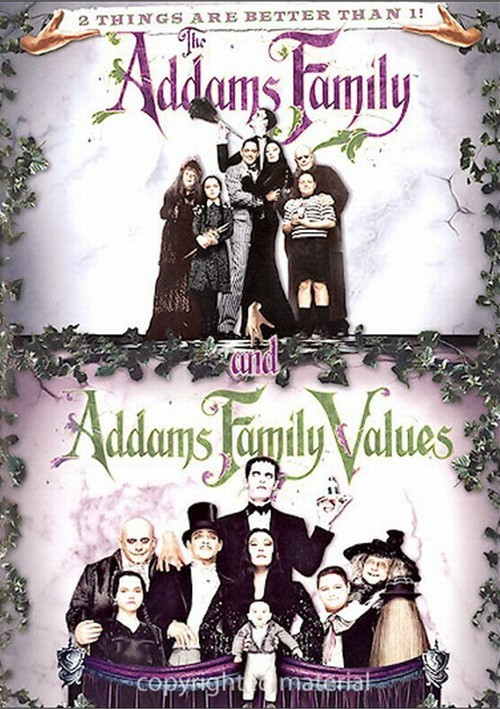 Addams Family, The / Addams Family Values (Double Feature)