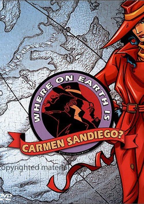 Where On Earth Is Carmen Sandiego?: 3 Disc Set