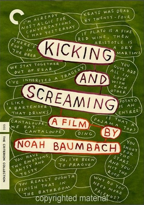 Kicking And Screaming: The Criterion Collection