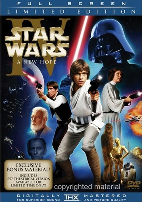 Star Wars Episode IV: A New Hope (Fullscreen)