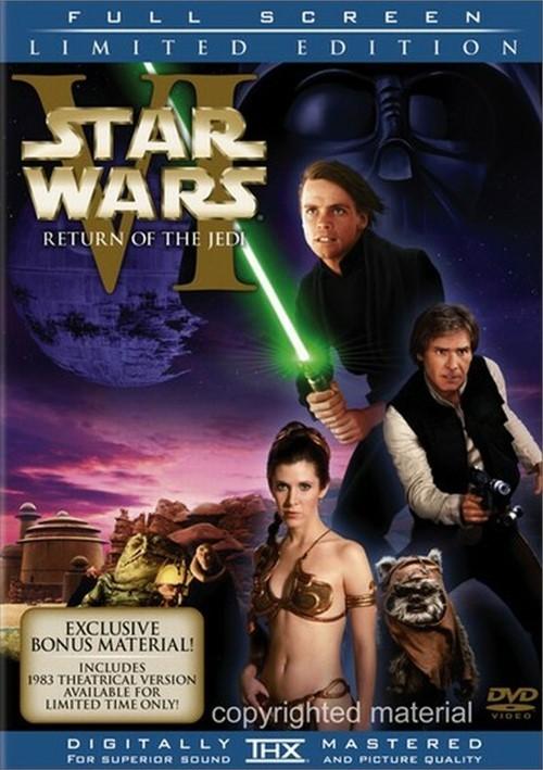 Star Wars Episode VI: Return Of The Jedi (Fullscreen)