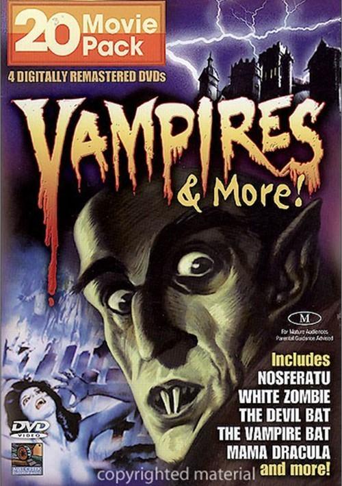 Vampires & More: 20 Movie Pack
