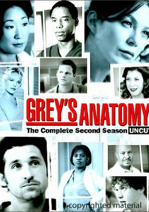 Greys Anatomy: The Complete Second Season - Uncut