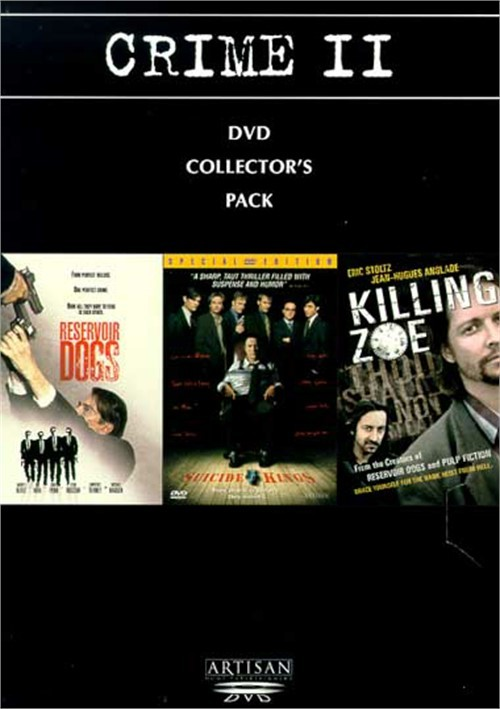 Crime II: DVD Collectors Pack - Reservoir Dogs/ Suicide Kings/ Killing Zoe