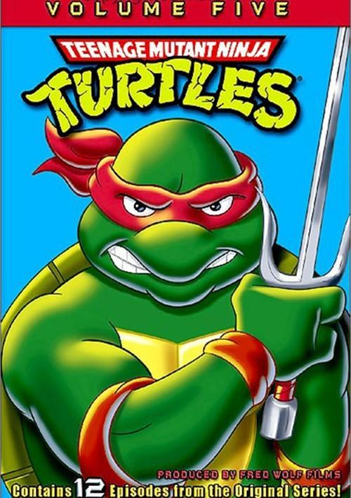 Teenage Mutant Ninja Turtles: Volume 5