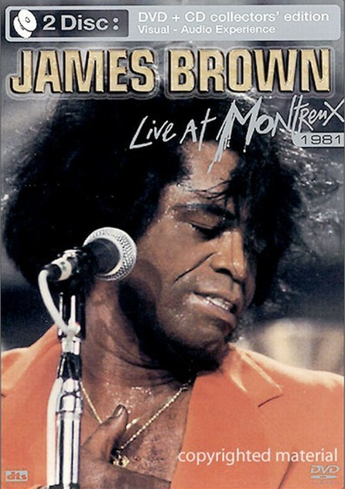 James Brown: Live At Montreux 1981 (With CD)