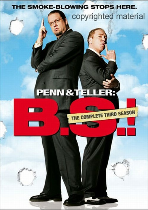 Penn & Teller: BS! The Complete Season 3 - Censored
