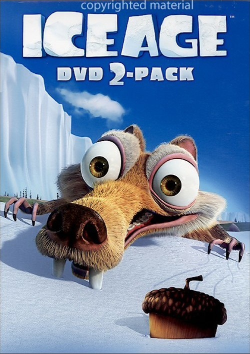 Ice Age / Ice Age 2: The Meltdown (Fullscreen) (2 Pack ... Ice Age The Meltdown Dvd Cover