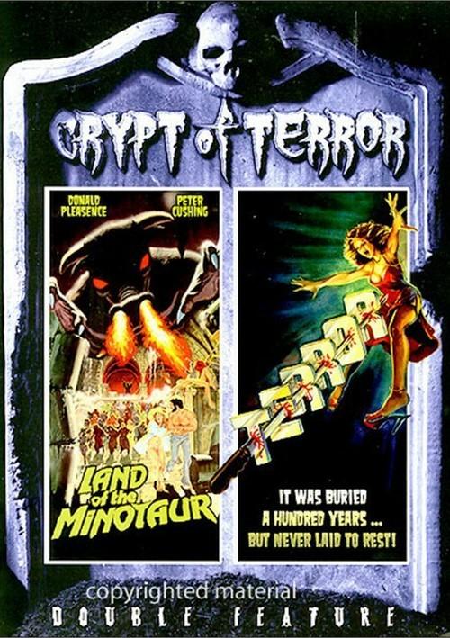 Crypt Of Terror Double Feature: Land Of The Minotaur / Terror