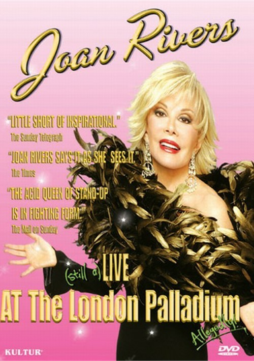 Joan Rivers: Live At The London Palladium
