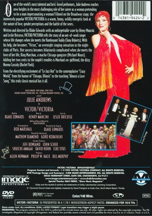 Victor, Victoria The Musical: TV Special For Japanese Audiences