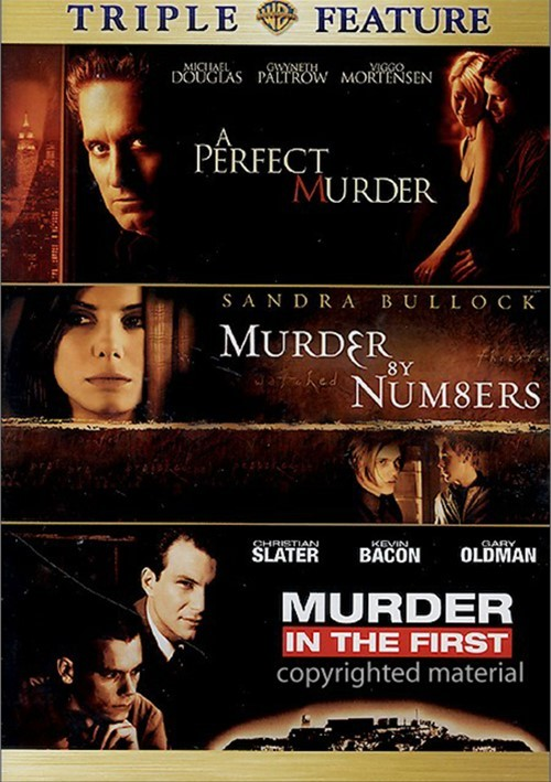 Perfect Murder, A / Murder By Numbers / Murder In The First (Triple Feature)