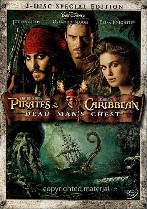 Pirates Of The Caribbean: Dead Mans Chest - 2 Disc Special Edition