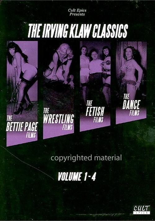 Irving Klaw Classics, The: Volume 1 - 4