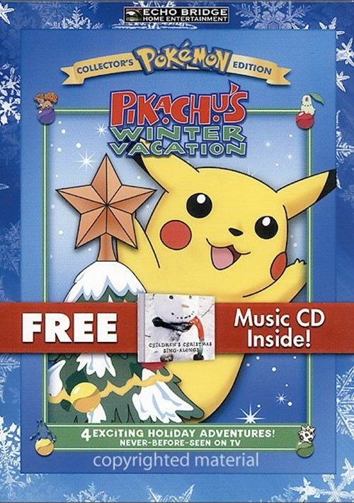 Pokemon: Pikachu's Winter Vacation (With Bonus Music CD