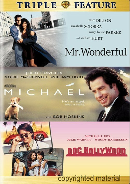 Doc Hollywood / Mr. Wonderful / Michael (3 Pack)