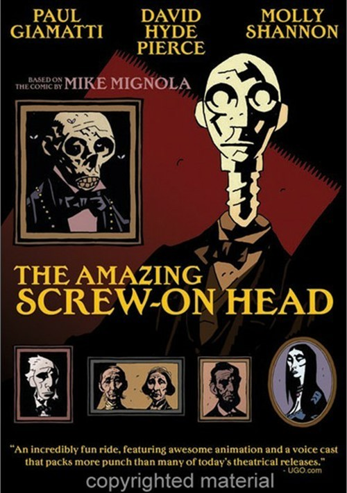 Amazing Screw-On Head, The