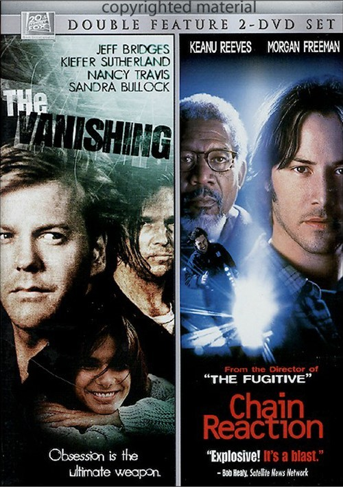 Vanishing, The / Chain Reaction (Double Feature)