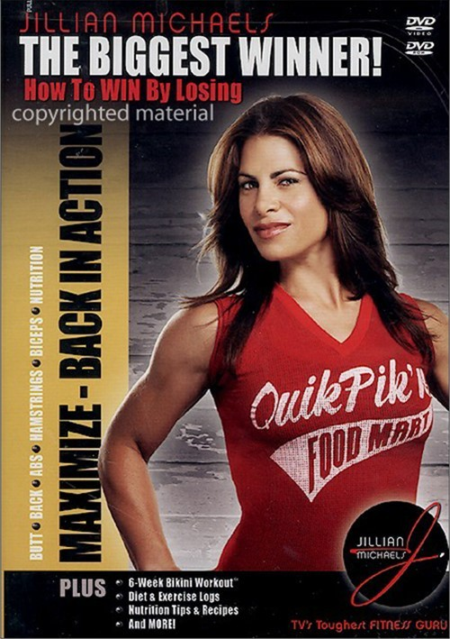 Jillian Michaels The Biggest Winner!: Maximize - Back In Action