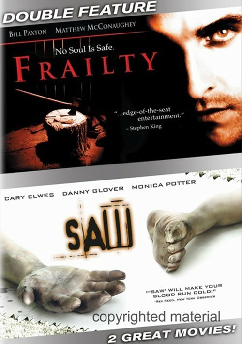 Frailty / Saw (Double Feature)