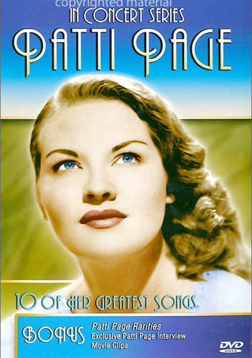 In Concert Series: Patti Page