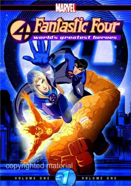 Fantastic Four: Worlds Greatest Heroes - Volume 1