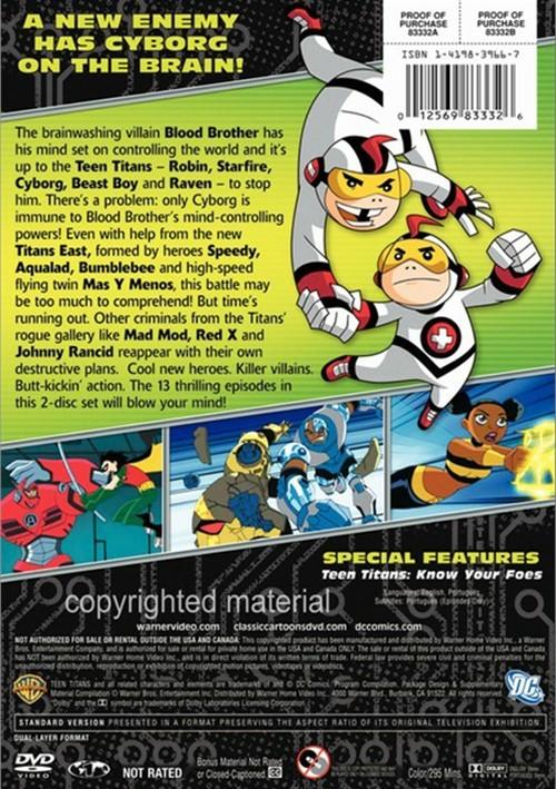 Teen Titans The Complete Third Season Dvd 2004  Dvd Empire-5264