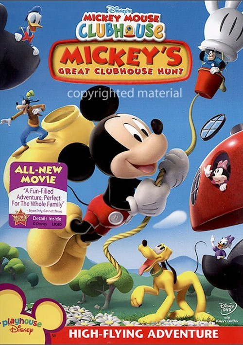 Mickey Mouse Clubhouse: Mickey's Great Clubhouse Hunt (DVD ...