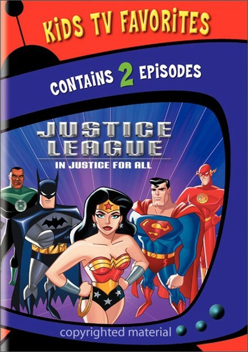 Kids TV Favorites: Justice League - In Justice For All