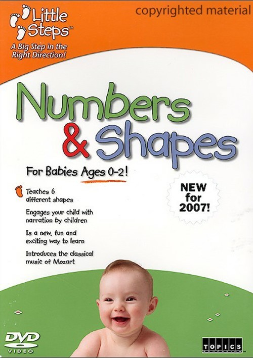 Little Steps: Numbers & Shapes