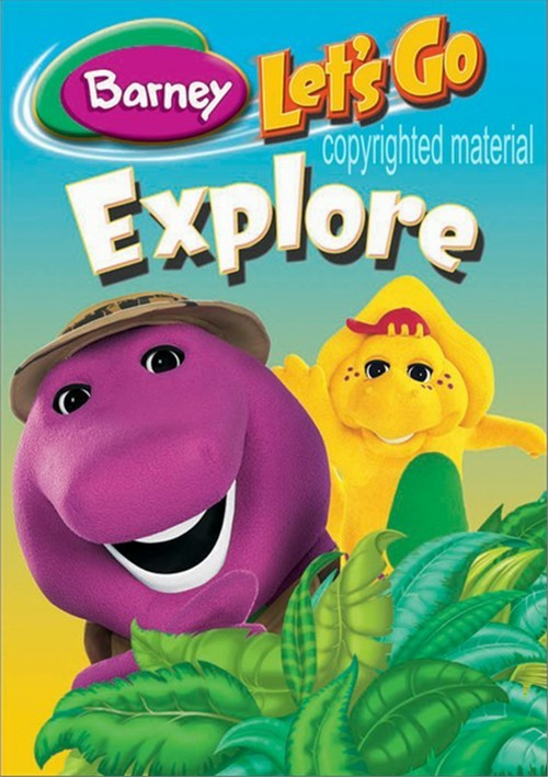 Barney: Lets Go Explore (3-Pack)