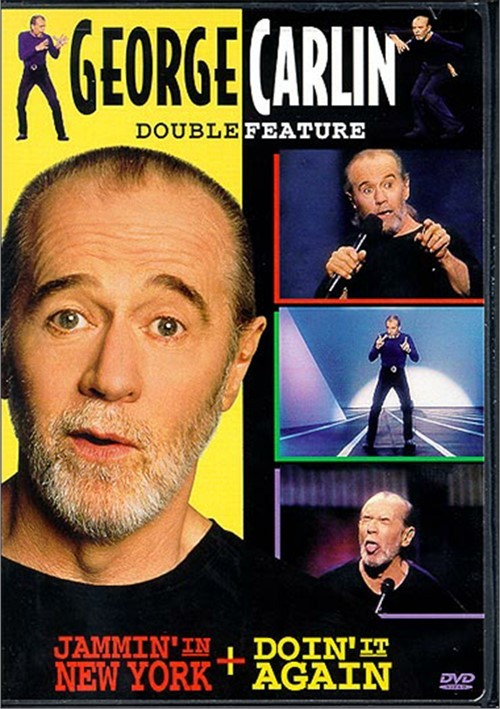 George Carlin: Jammin In New York/ Doin It Again (Double Feature)