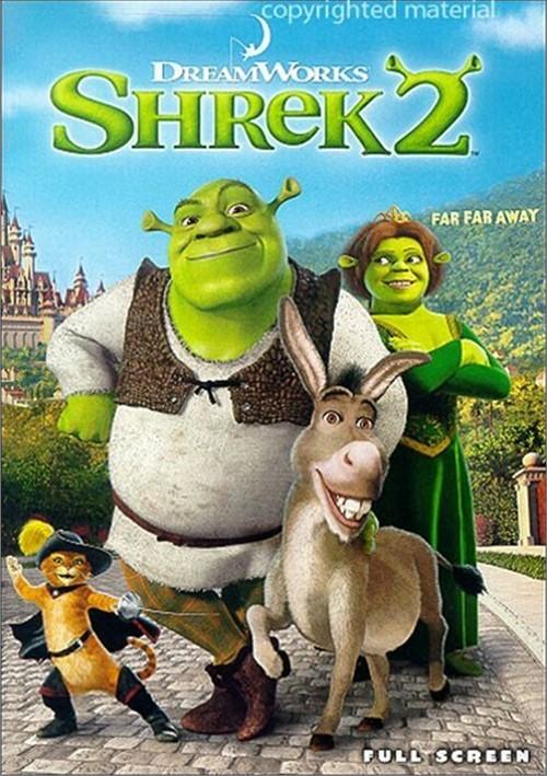 Shrek 2 (Fullscreen) / Shrek 3D Party In The Swamp (Widescreen)